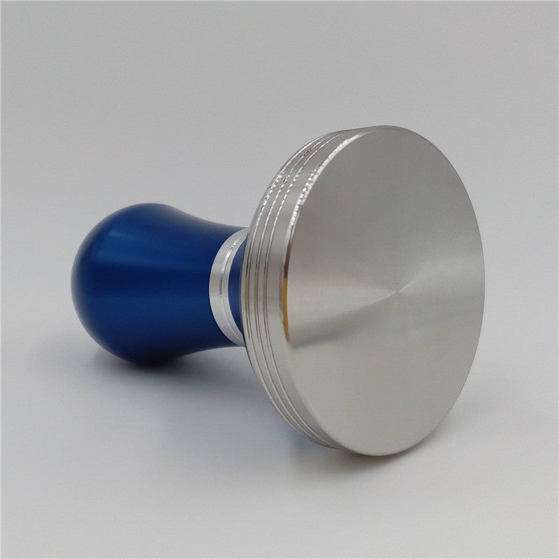 Stainless Steel 51mm Coffee Tamper Blue DIY Barista Espresso maker Grinder Handmade