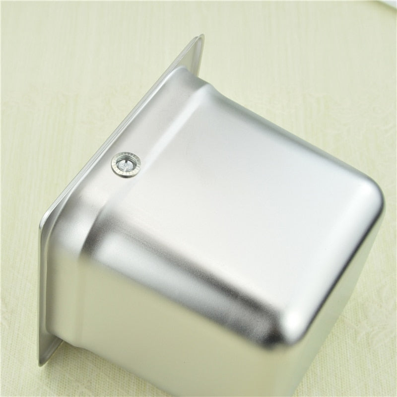Stainless Steel Espresso Coffee Knock Box Container Coffee Grounds Container Coffee Bucket for