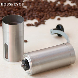 Stainless Steel Manual Coffee Bean Grinder Mills Machine Hand Conical Coffee Burr Grinder Pepper