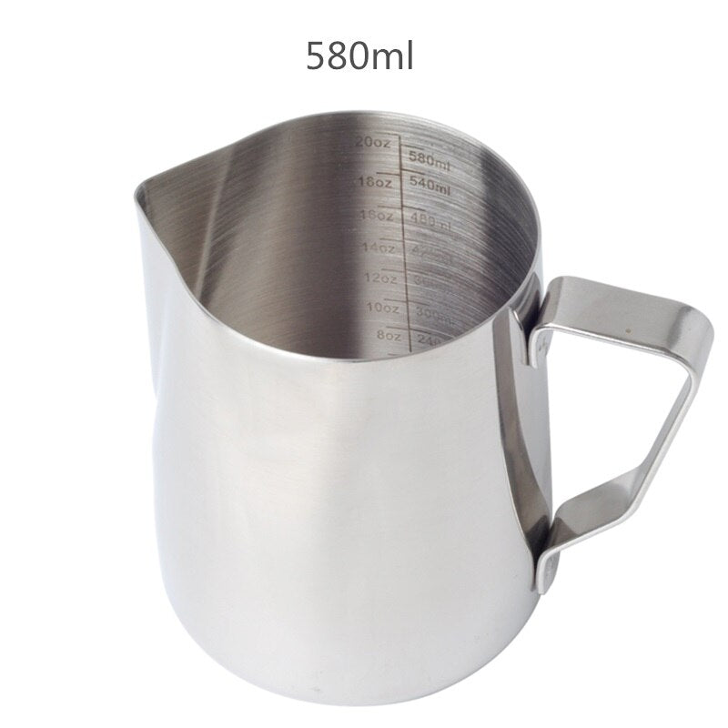 Stainless Steel Milk Frothing Jug Milk Pitcher Espresso Coffee Pitcher Barista Craft Coffee Latte