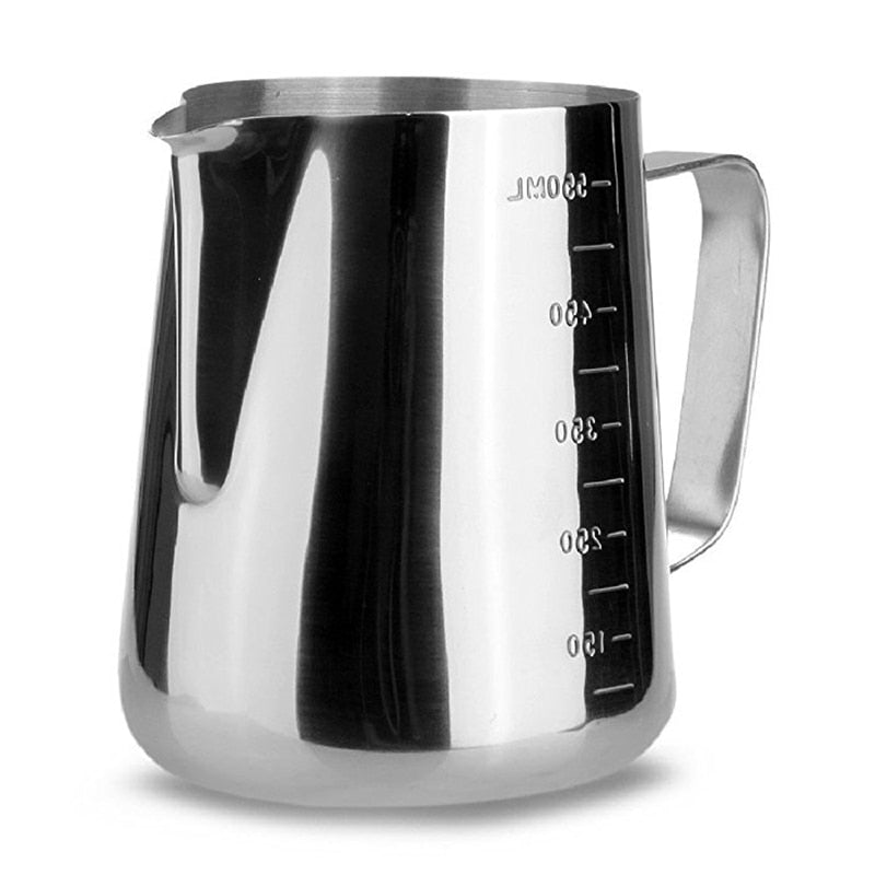 Stainless Steel Milk frothing Jug Espresso Coffee Pitcher Barista Craft Coffee Latte Milk Frothing