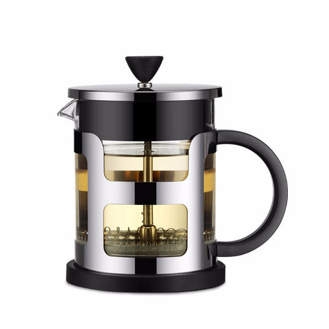 Stainless Steel Portable French Press Coffee Pot Tea Maker Machine Moka With Strainer Filter