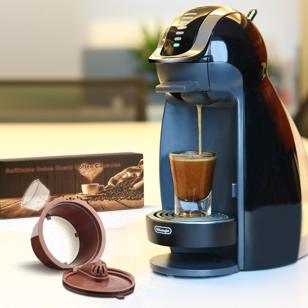 Coffee Capsule For Nescafe Dolce Gusto Reusable Coffee Tea Filters Dripper Baskets