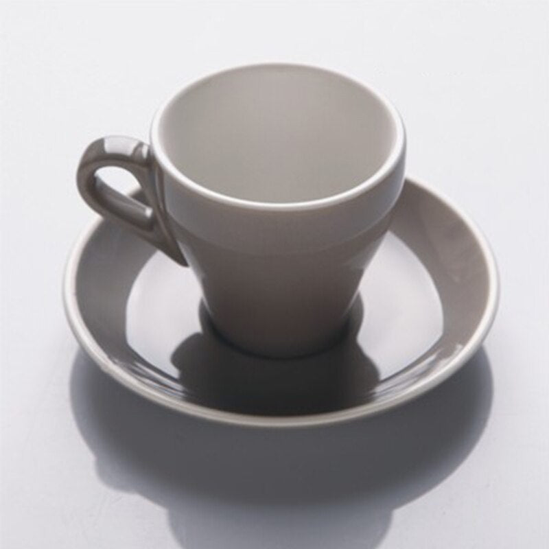 Wourmth 200ml Royal Luxury Bone China Coffee Cup Advanced Porcelain Tea Cup And Saucer Spoon Set