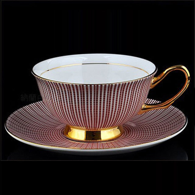 YeFine Ceramics European Royal Bone China Coffee And Tea Cup Coffee Cups And Saucers Drinkware Cup