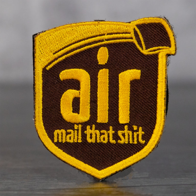 Airmail That Shit Velcro Patch