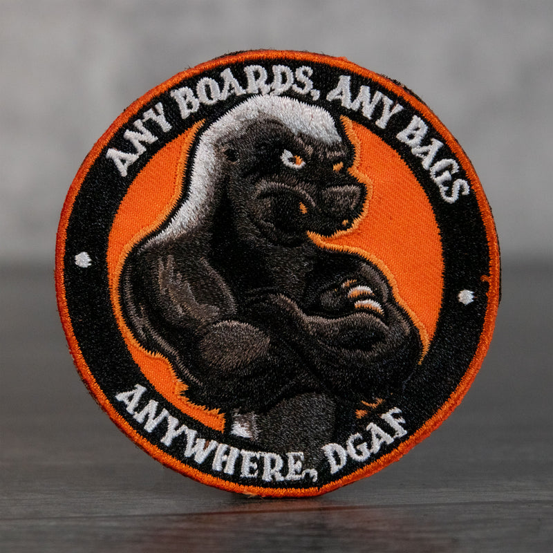 Honey Badger DGAF Velcro Patch