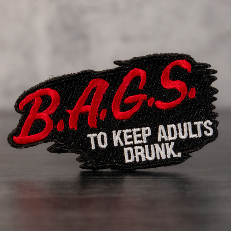 B.A.G.S. for Adults Velcro Patch