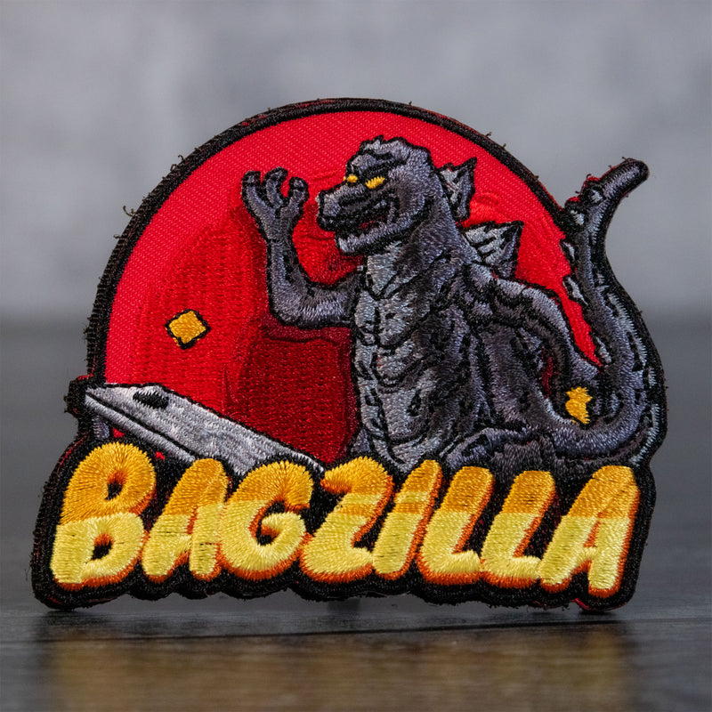 Bagzilla Velcro Patch