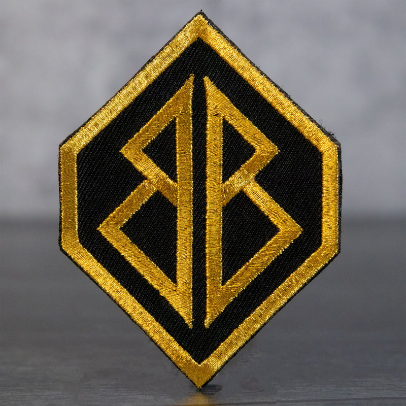 Golden Bags Boards Velcro Patch