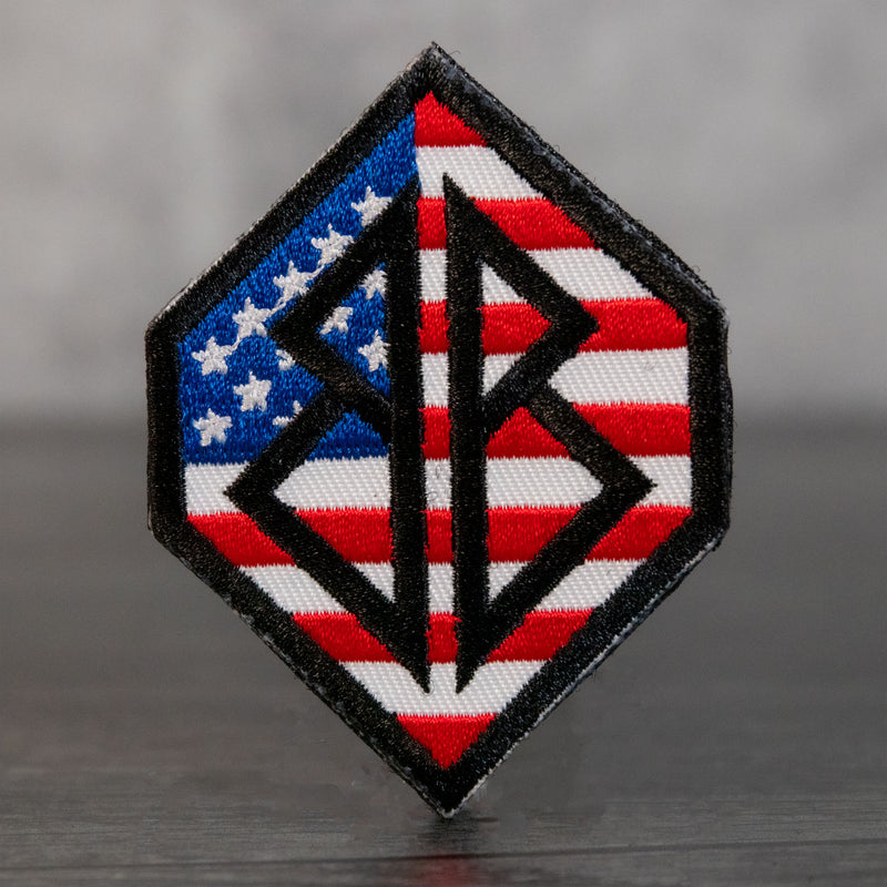 Bags Boards 'Merica Velcro Patch