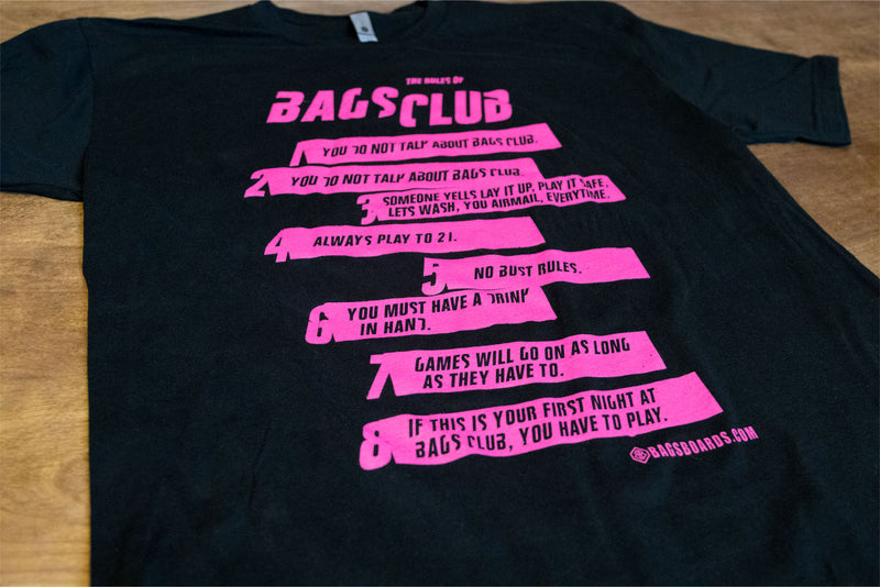 Bags Club Cornhole Shirts