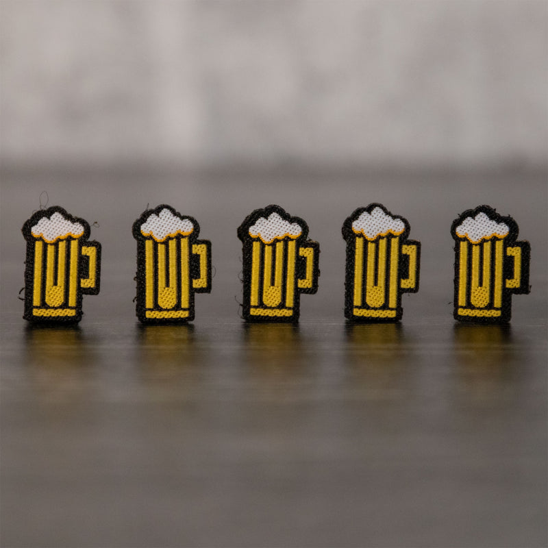 Beer Minis Velcro Patch (5 Pack)