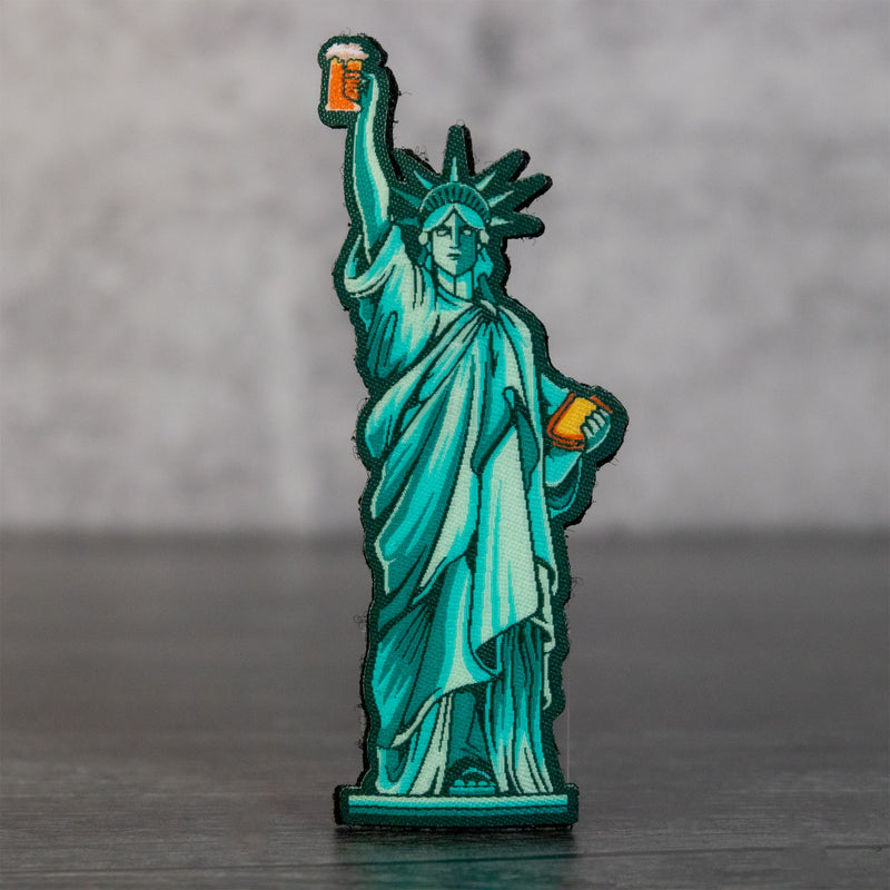 Statue of Liberty Cornhole Patch