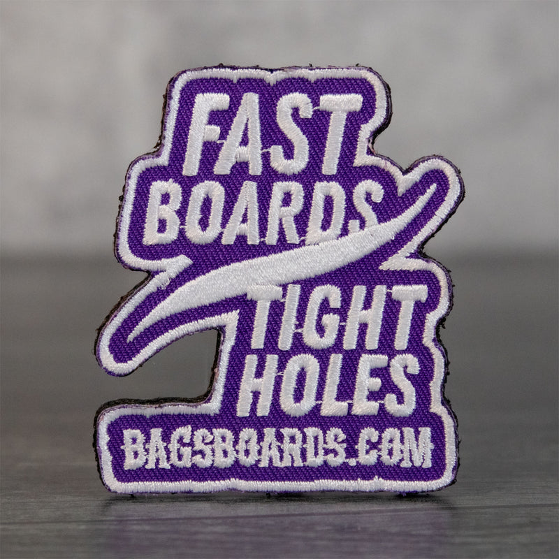 Fast Boards Tight Holes Velcro Patch