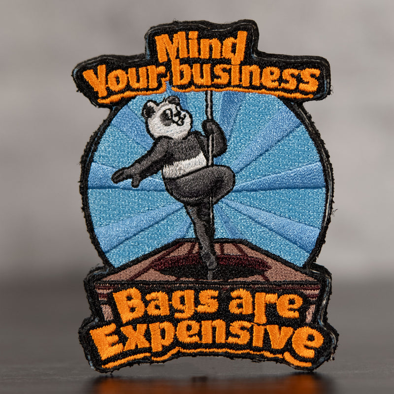 Mind Your Business Velcro Patch