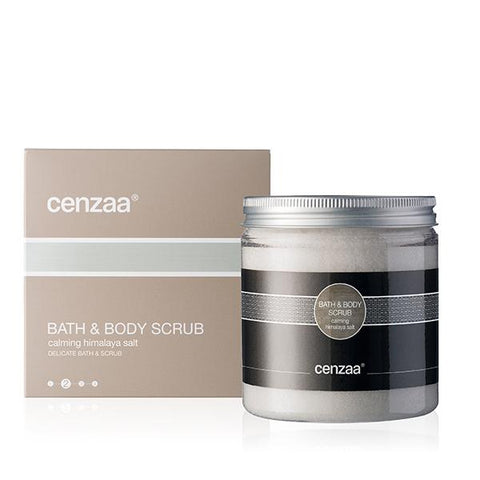 Cenzaa Bath & Body Scrub Calming Himalaya Salt 250gr