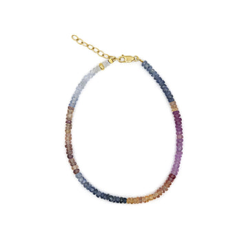 Arizona Light Rainbow Sapphire Bracelet