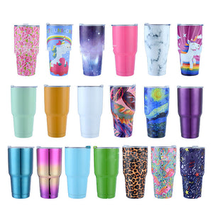 900ml Personalized Healthcare Recognition Tumbler With Lid and Straw