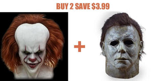 "🎉【Halloween special offer only$19.99】🎉2019 【Joker】Comeing ""IT""MASK"