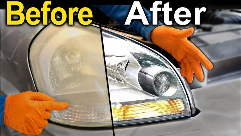 Super Restore Headlights PERMANENTLY