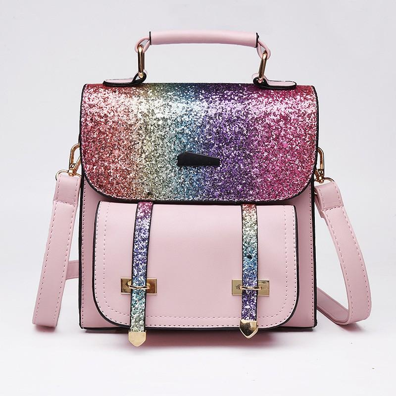 Women Colorful Shiny Bag