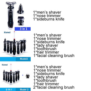 (LAST 2 DAYS 50% OFF)7 in 1 Men's 3D Electric Shaver