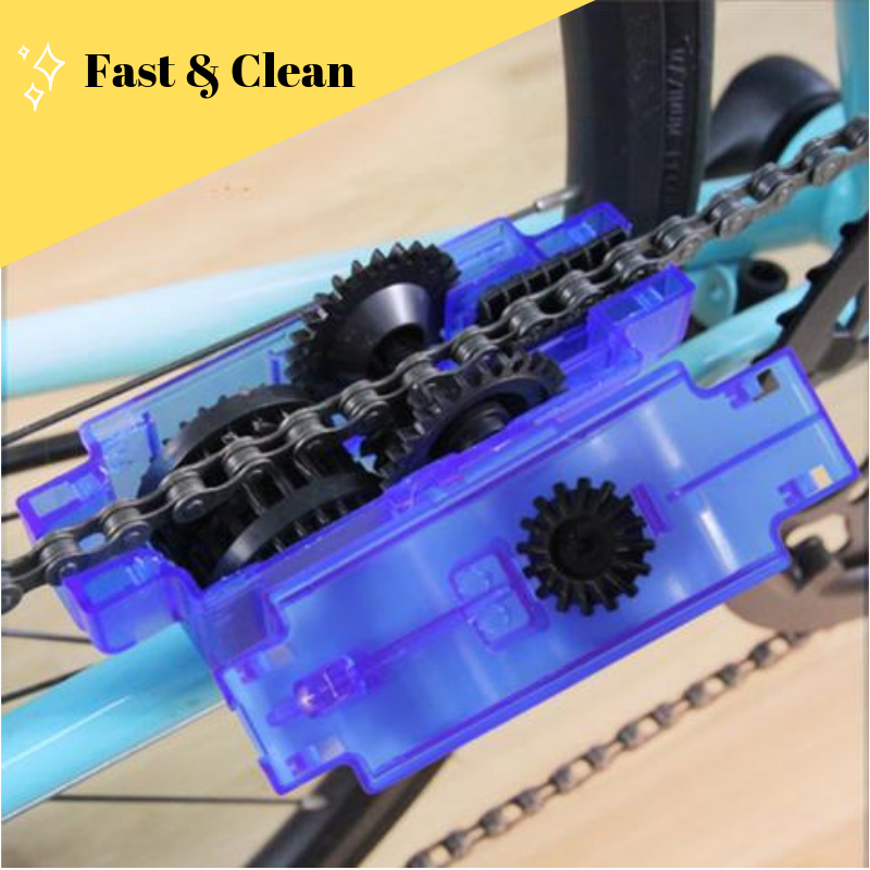 Cyclone Chain Cleaner