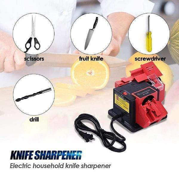 🔥50% OFF ( Limited Stock)🔥Multifunctional Electric Sharpener