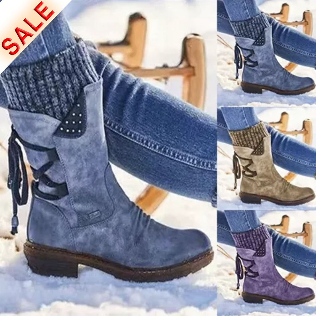 (Last day 50% OFF) New Fall & Winter Arch Support Mid-calf Boots