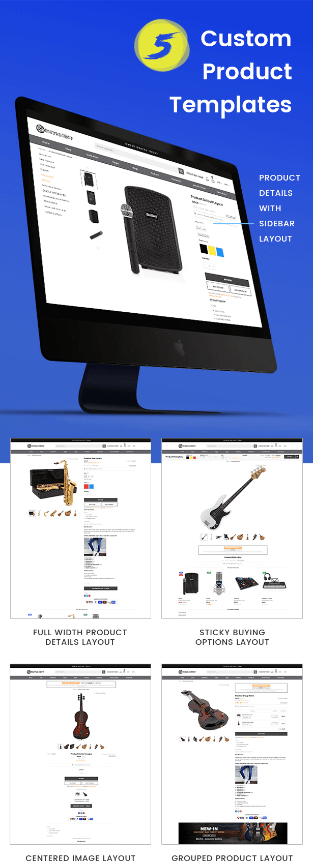 KalaMusic Product Template