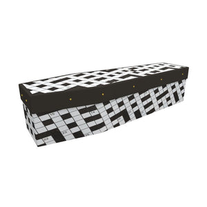 Crossword Cardboard Coffin