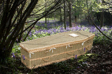 Load image into Gallery viewer, Natural Grass traditional willow coffins