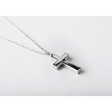 Load image into Gallery viewer, Small Sterling Silver Cross Pendant