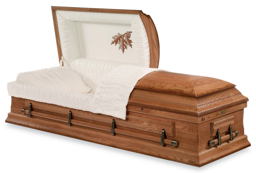 Oak Leaf Casket