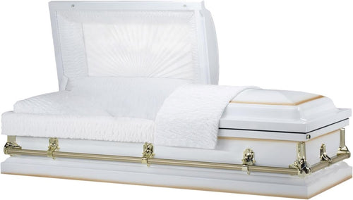White Grace Casket