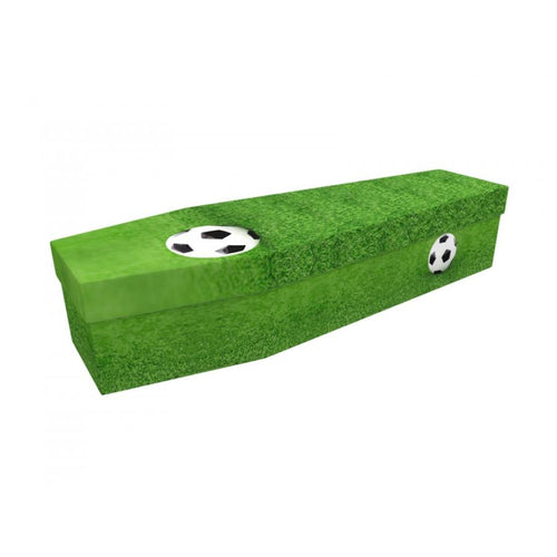 Football Cardboard Coffin