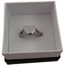Load image into Gallery viewer, Heart Stainless Steel Ring