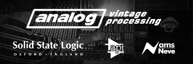 Learn more about analog processing drum kits