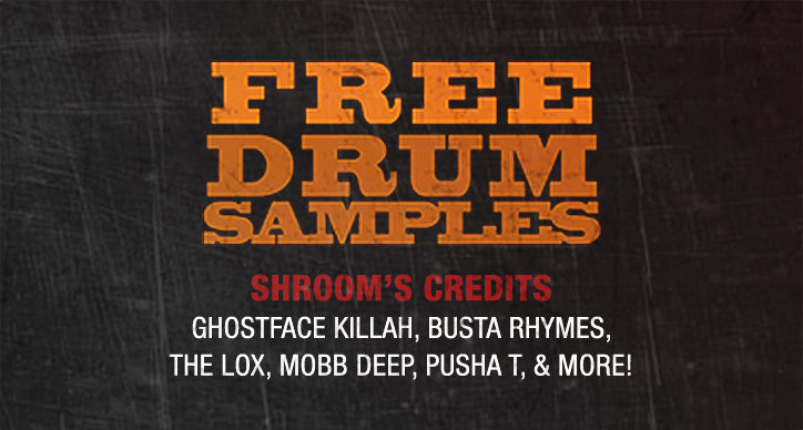 Receive Free Drum Samples!