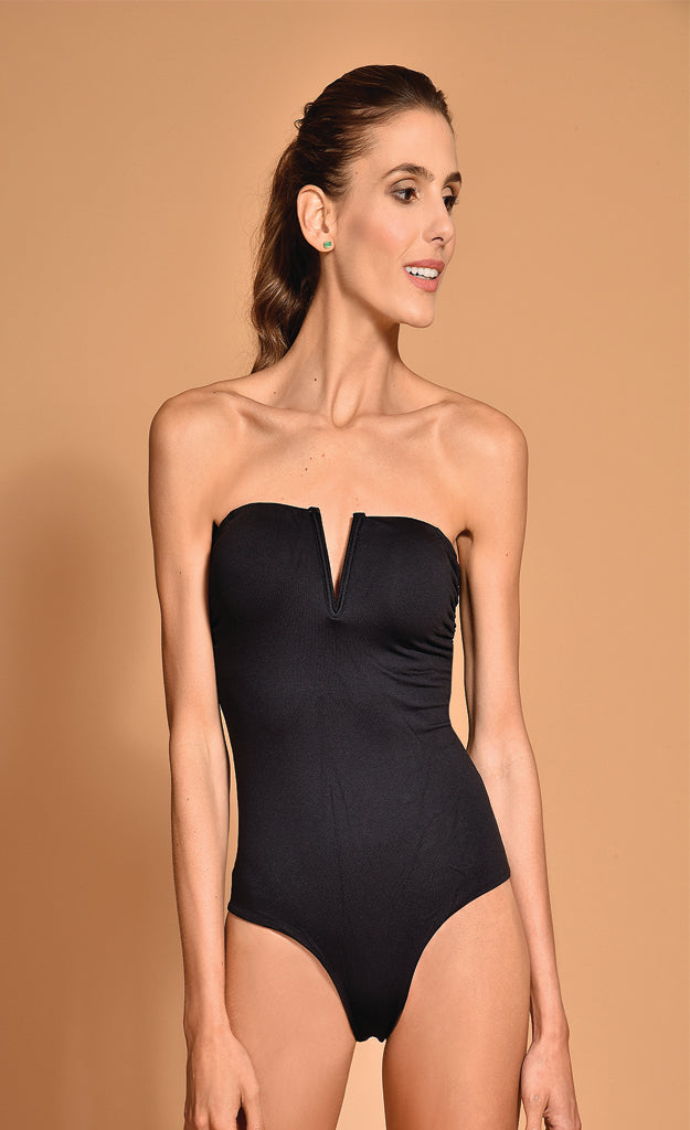 Hansen One Piece Black