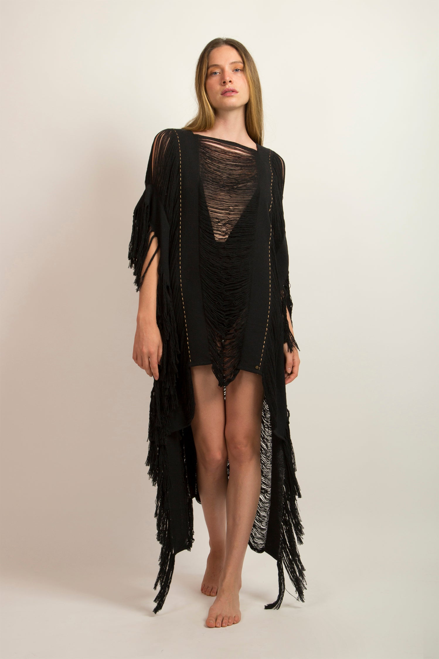Maxi Asymmetric Black