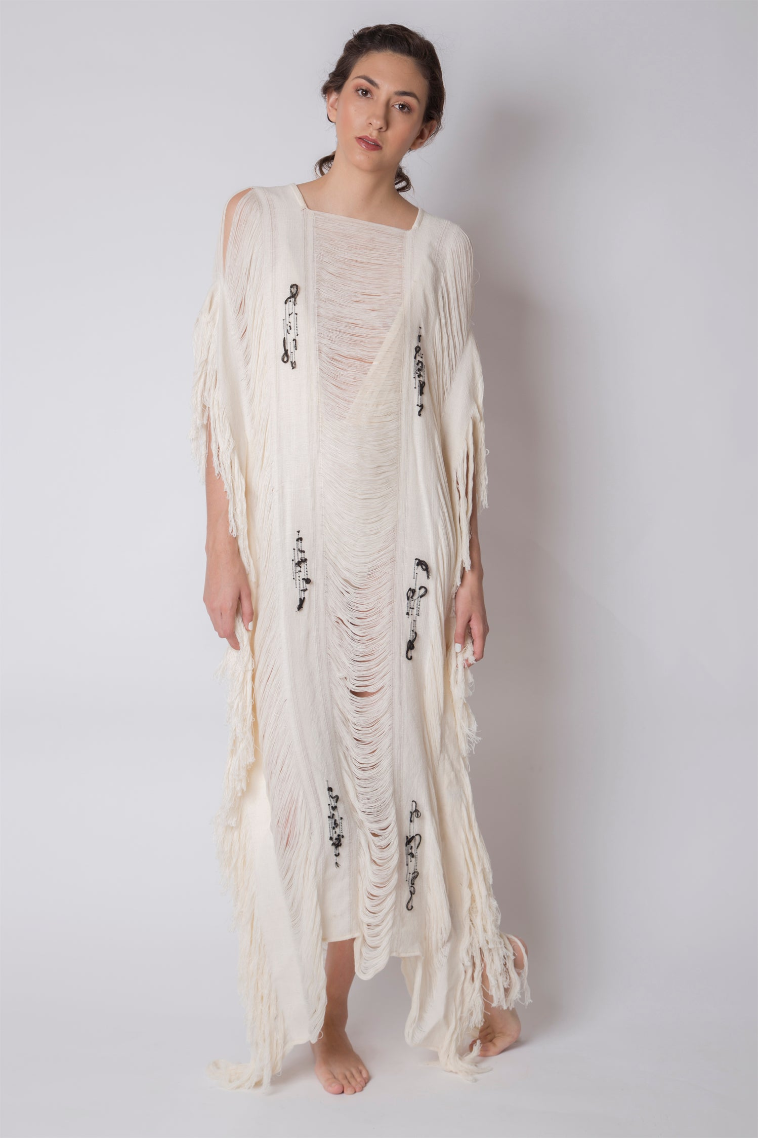 Maxi Dress Rombo Nude
