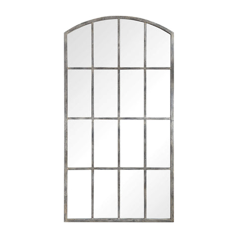 Amiel Large Arch Mirror - White Wash