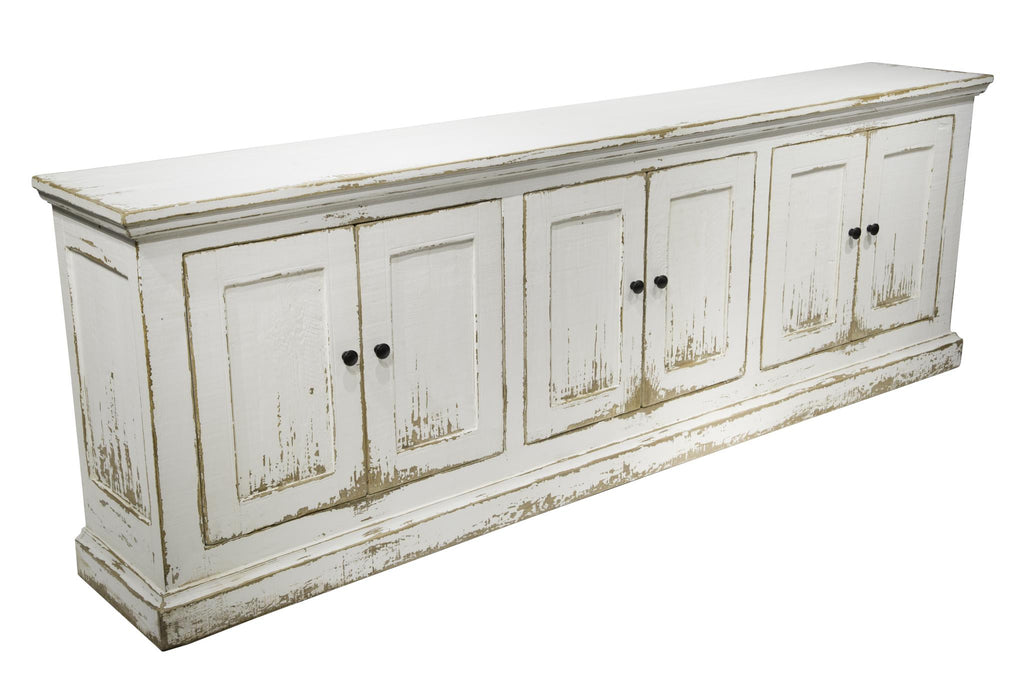 Mira 6-Door Sideboard - Antique White