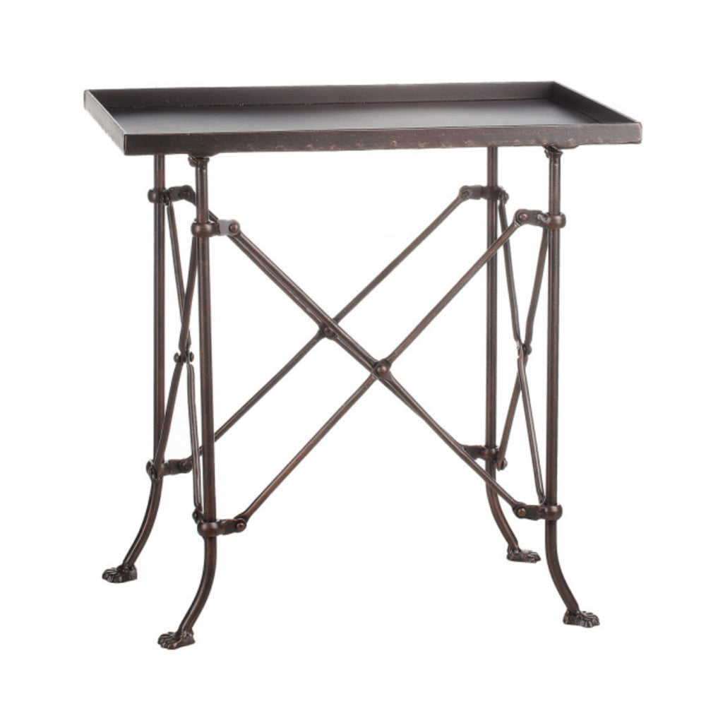 20x12x22 Metal End Table