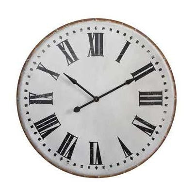 "40"" Metal Wall Clock"