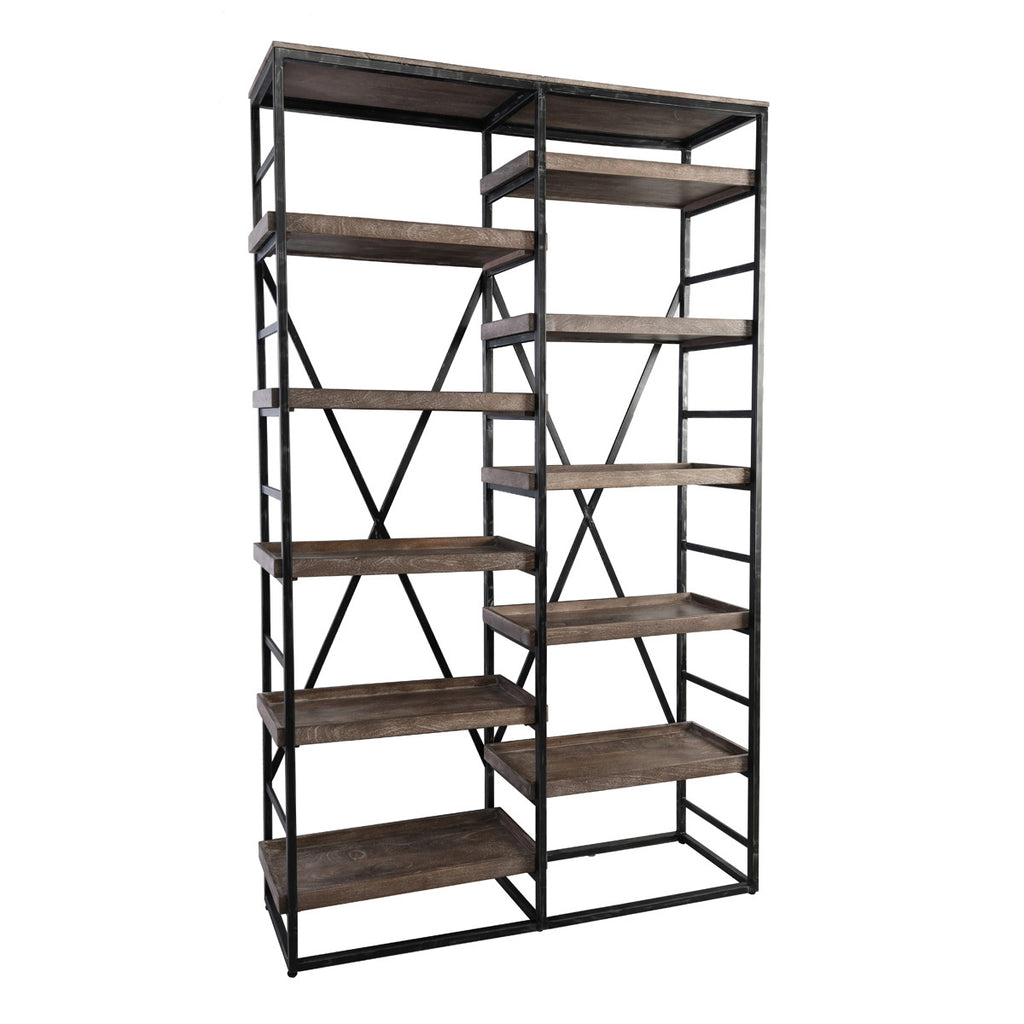 Evie Wide Bookcase