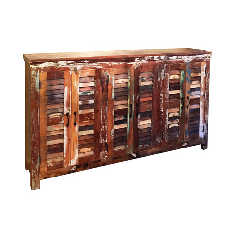 Cape 6-Shutter Door Sideboard