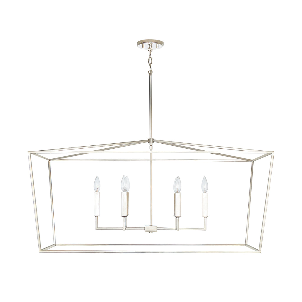 Thelma Island Chandelier - Polished Nickel